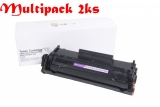 Multipack Canon FX10 / HP Q2612A, Black - 2ks