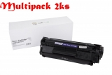 Multipack Canon FX10 X / HP Q2612X, Black - 2ks